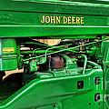 Vintage John Deere Tractor by Paul Ward