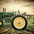 Vintage John Deere Tractors by Ken Smith