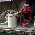 Vintage Kerosene Lamp And Vintage by Feifei Cui-paoluzzo