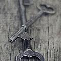 Vintage Keys by Priska Wettstein