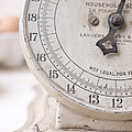 Vintage Kitchen Scale by Edward Fielding