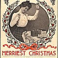 Vintage Kodak Christmas Card by Edward Fielding