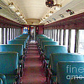 Vintage Lackawana #595 Coach Aisle by Charles Robinson