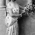 Vintage Lady I  Bw Limited Sizes by Lesa Fine