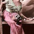 Vintage Lady Rose  Limited Sizes by Lesa Fine