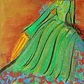 Vintage Lady by Sylvia Masri