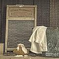 Vintage Laundry Room II By Edward M Fielding by Edward Fielding