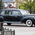 Vintage Lincoln Limo 1941 by Bobbee Rickard