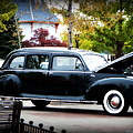 Vintage Lincoln Limo II by Bobbee Rickard