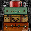 Vintage Luggage by Marvin Blaine
