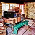 Vintage Luggage Room by John Lynch