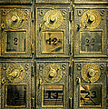Vintage Mailboxes by Jill Battaglia