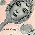 Vintage Make Up Advert by Georgia Fowler