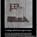 Vintage Maytag Wringer Washer by Barbara Griffin