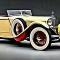 Vintage Mercedes Convertible by Florian Rodarte