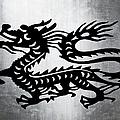 Vintage Metal Dragon by Roz Abellera