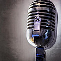 Vintage Microphone 2 by Scott Norris