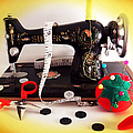 Vintage Mini Sewing Machine by Shawna Rowe