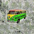Vintage Minibus by Mark Khan