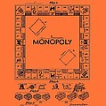 Vintage Monopoly Game Patent by Mountain Dreams