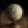 Vintage Moon Globe by Edward Fielding