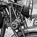 Vintage Motorcycle by Marvin Blaine