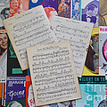 Vintage Music Sheets No.2 by John Greco