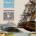 Vintage Mutiny On The Bounty Movie Poster 1962 by Mountain Dreams
