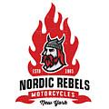 Vintage Nordic Rebels Motorcycles by Tortuga