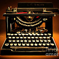 Vintage Nostalgic Typewriter 20150302 by Wingsdomain Art and Photography