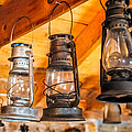 Vintage Oil Lanterns by Paul Freidlund