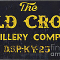 Vintage Old Crow - D008693 by Daniel Dempster