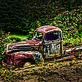 Vintage Old Forty's Pickup by Randall Branham
