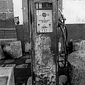 Vintage Old Gas Pump by Cathy Anderson