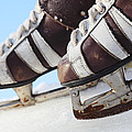 Vintage Pair Of Mens  Skates  by Mikhail Olykaynen