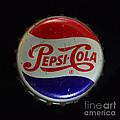 Vintage Pepsi Bottle Cap by Paul Ward