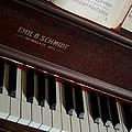 Vintage Piano by Chuck De La Rosa