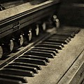 Vintage Piano by Dan Sproul