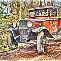 Vintage Pickup Truck by John Lynch