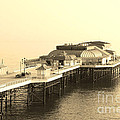 Vintage Pier At Dawn by Andy Readman