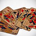 Vintage Playing Cards Art Prints by Valerie Garner