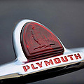 Vintage Plymouth Sailing Ships Emblem  by Jeanne May