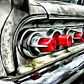 Vintage Pontiac Taillights by Florian Rodarte