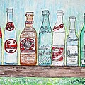 Vintage Pop Bottles by Kathy Marrs Chandler