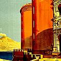 Vintage Poster - Napoli by Benjamin Yeager