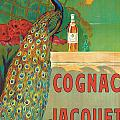Vintage Poster Advertising Cognac by Camille Bouchet