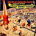 Vintage Poster - Circus - Barnum Bailey Water by Benjamin Yeager