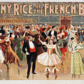 Vintage Poster Fanny Rice At The French Ball by R Muirhead Art