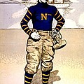 Vintage Poster - Naval Academy Midshipman by Benjamin Yeager