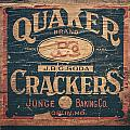 Vintage Quaker Crackers For The Kitchen by Lisa Russo